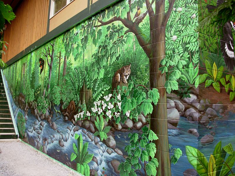 Outside Wall Painting